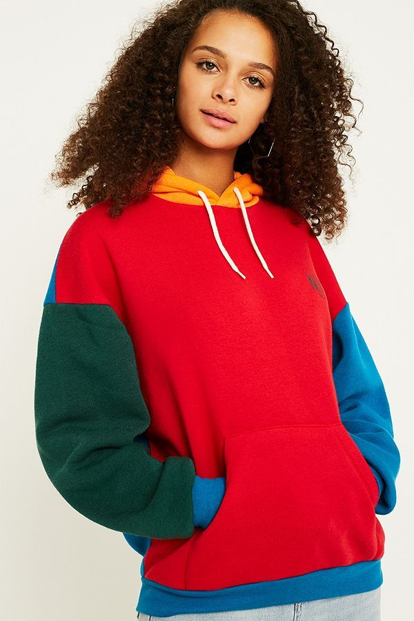 b137b218681 Slide View: 5: UO NYC Primary Colour Block Hoodie | Fashion in 2019 ...