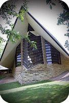 Frank Lloyd Wright. First Unitarian Church. Madison, EEUU. 1947.