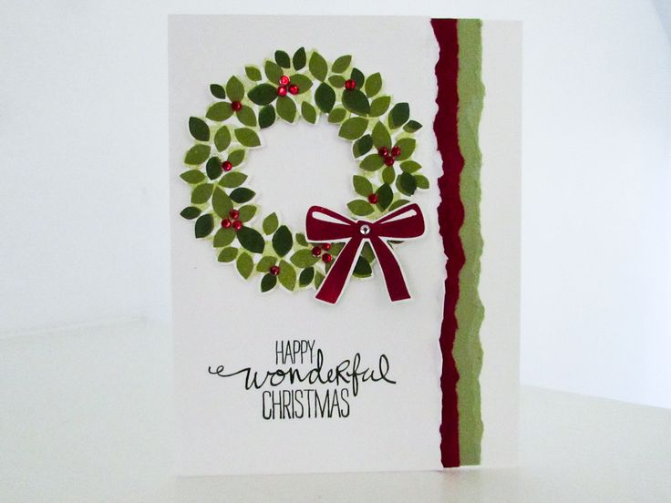 Today's video tutorial features the Stampin' Up! Wonderous Wreath Stamp Set and Framelits. Happy Holidays!
