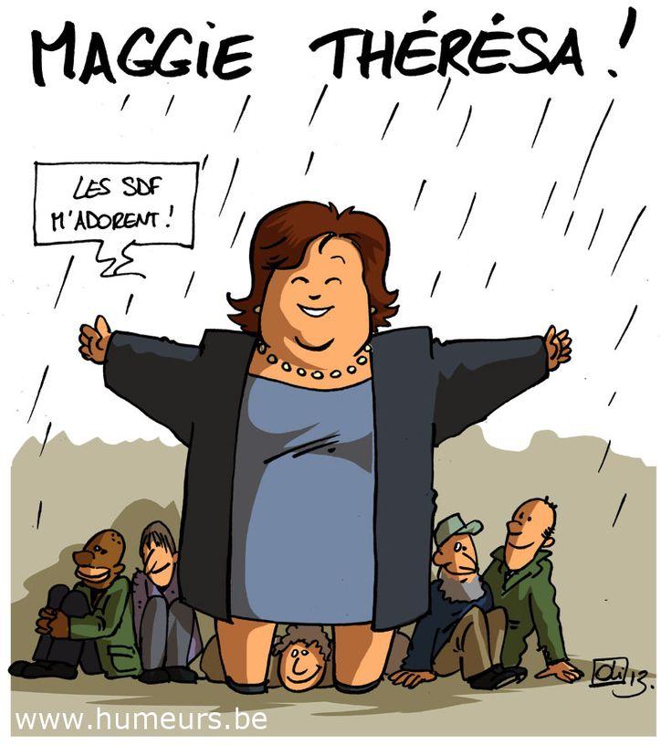 Maggie De Block veut réintégrer les sans-abris !