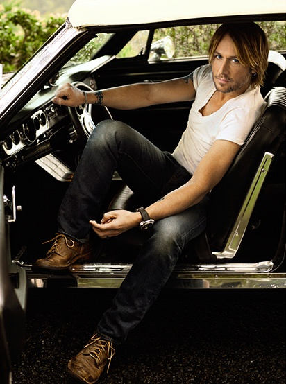 my favorite picture of Keith.. he could pick me up and drive me around!