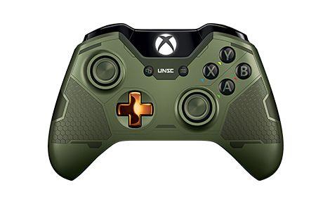 MorbidStix - Halo 5: Guardians - the Master Chief Xbox One Controller, $59.99 (http://www.morbidstix.com/halo-5-guardians-the-master-chief-xbox-one-controller/)