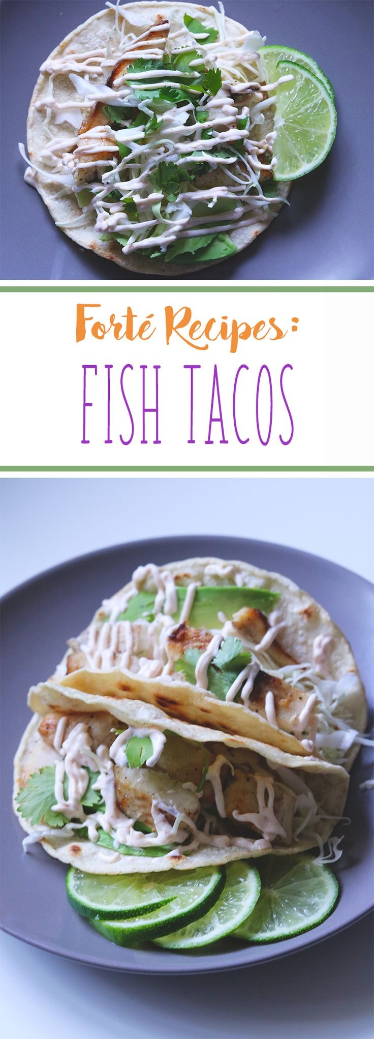 Here's another health and easy recipe that my family loves! We had fish tacos meal the first time at my cousin's house a few years ago and after that, we were all hooked. It is a great meal for lunch or dinner and contains a lot of essential nutrients for all the expecting moms out there. I hope you like our fish taco recipe.