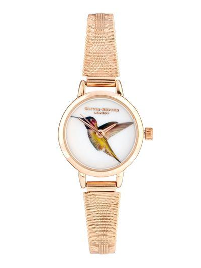 Olivia Burton Hummingbird Watch - Stijltips: de grijze trui 6x anders