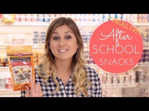 What To Eat After School: Healthy Snack Haul