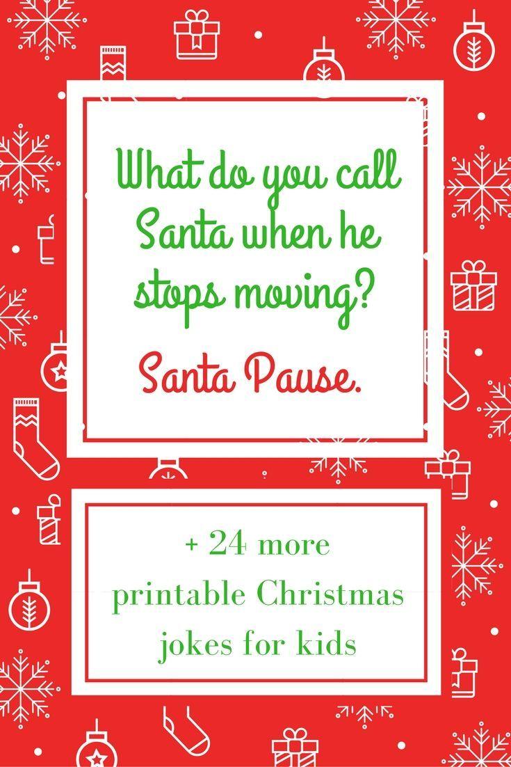 25 Printable Christmas Jokes for Kids Christmas jokes