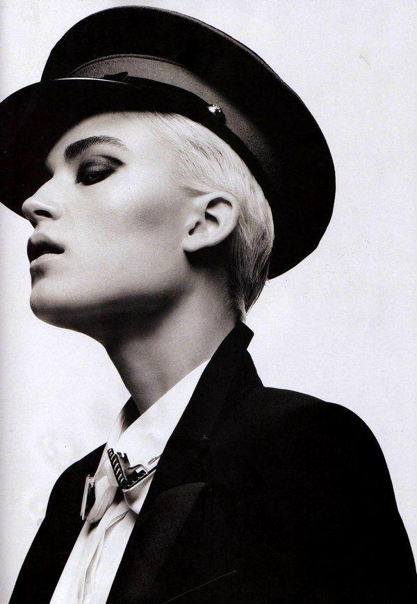 """Jana Knauerova"" by Hedi Slimane for Vogue Russia editorial ""Jana by Hedi"""