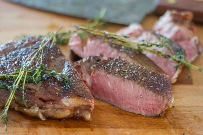 Sous Vide Butter-Basted Ribeye