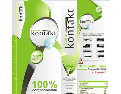 "Check out new work on my @Behance portfolio: ""Green Kontakt - Wipers Packaging Design"" http://on.be.net/1k3EubC"