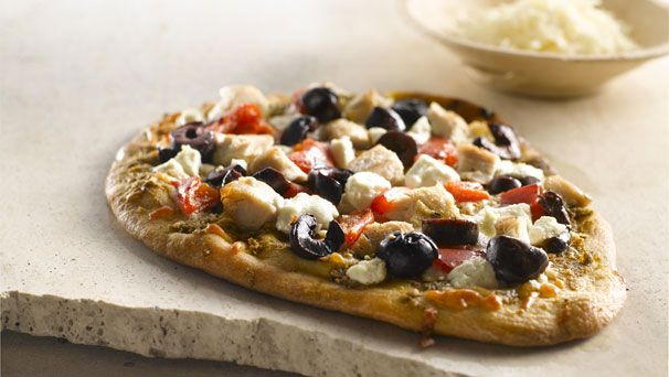 Two Cheese Pesto Pizza Recipes — Dishmaps