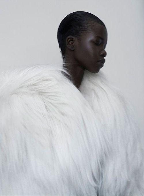 Titania Inglis Gods Magazine #2 Photographer: Kasia Bielska Makeup: Linda Gradin  Model: Nykhor Paul