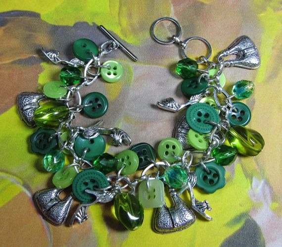 Beaded Lucky Charm Bracelet Fun Style by flirtyfashionjewelry, $49.00