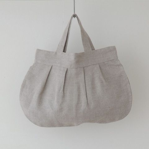Crick & Watson - Natural Anne Round Bag