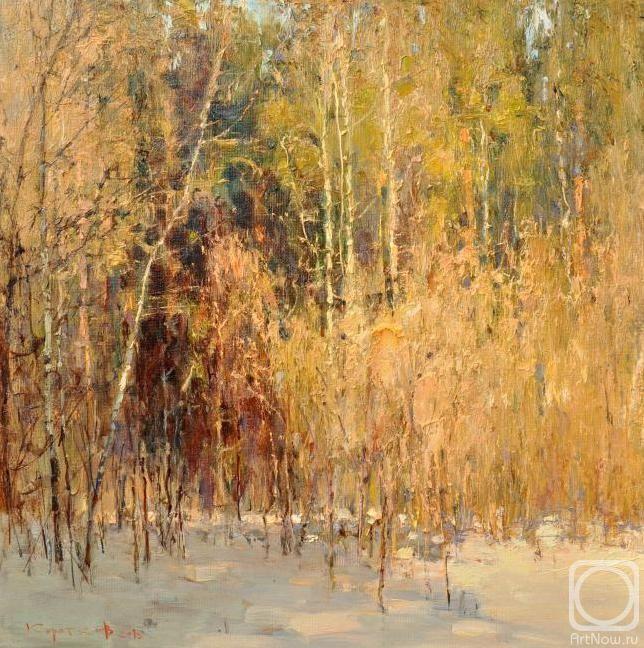 Коротков Валентин. Весенний лес