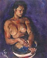 Roland Strasser (Austrian, 1895 - 1974) - Balinese lady