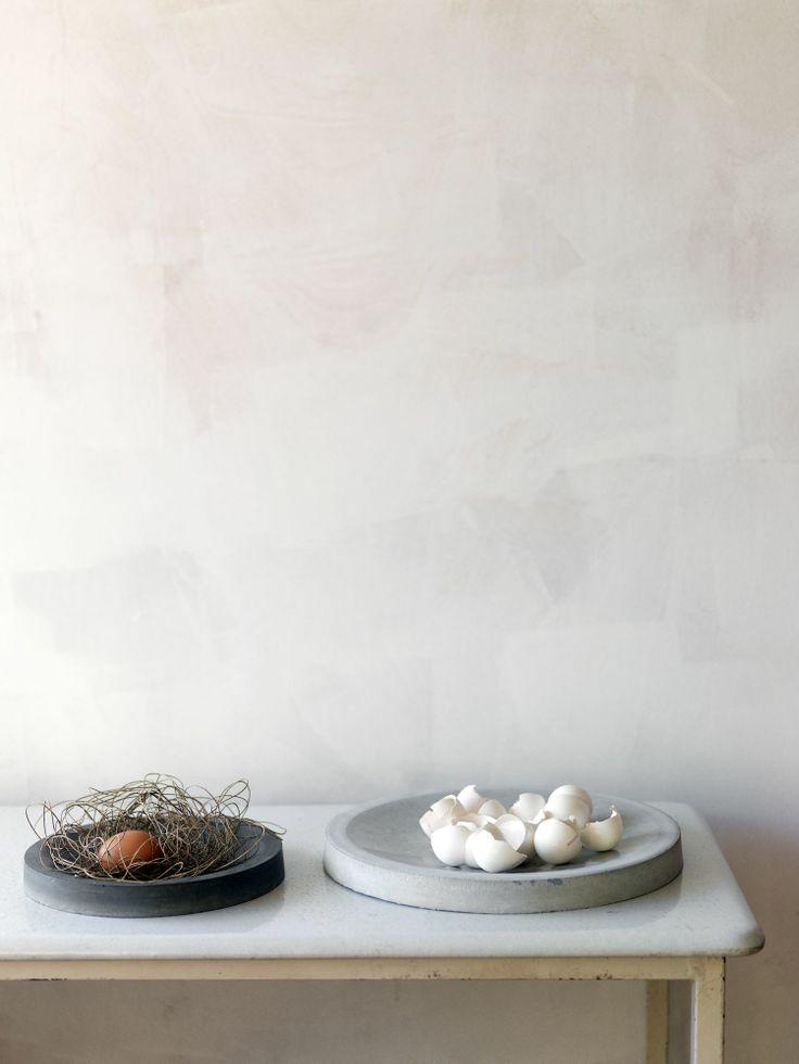 Concrete plates - bowls Alexa Lixfeld | Betonschalen