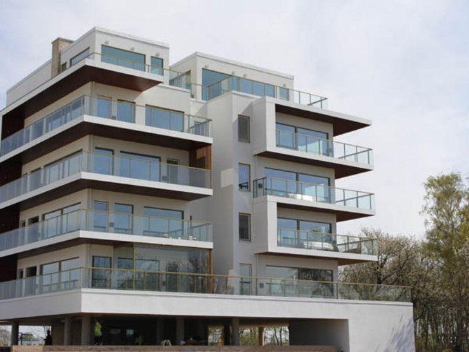 Strand Lomma, Lomma - Weber Serpomin EF Fasadsystem