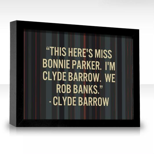 Bonnie And Clyde Movie Poster 48 best images about I...