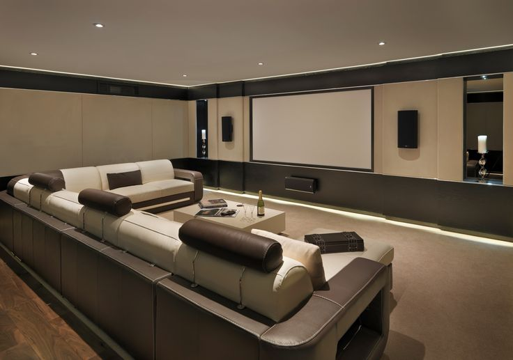Cinema room - Stephen Clasper Interiors
