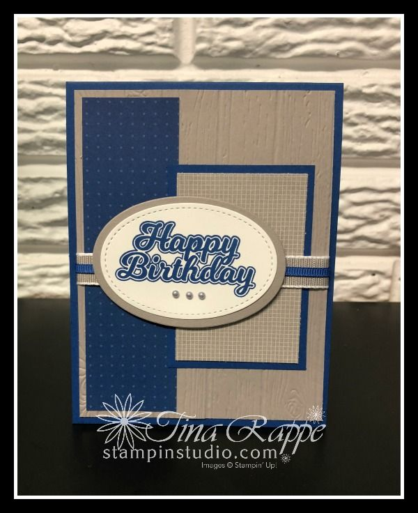 Stampin Up Blow Out The Candles Studio