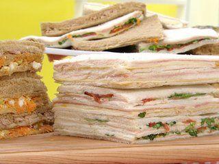 Sandwich de miga,.... mmmm