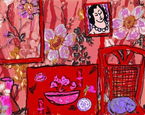 Tablouri Matisse - Red room   Tablouri celebre,p440   tablouri canvas online