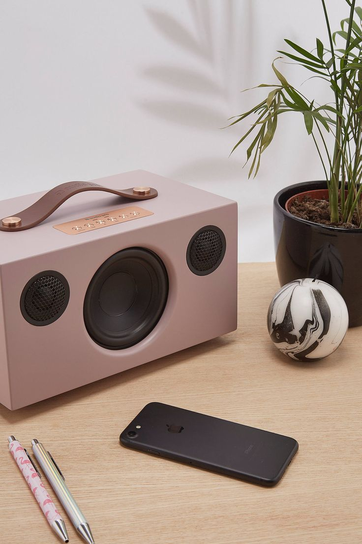 Slide View: 1: Audio Pro Addon T5 Pink Bluetooth Speaker