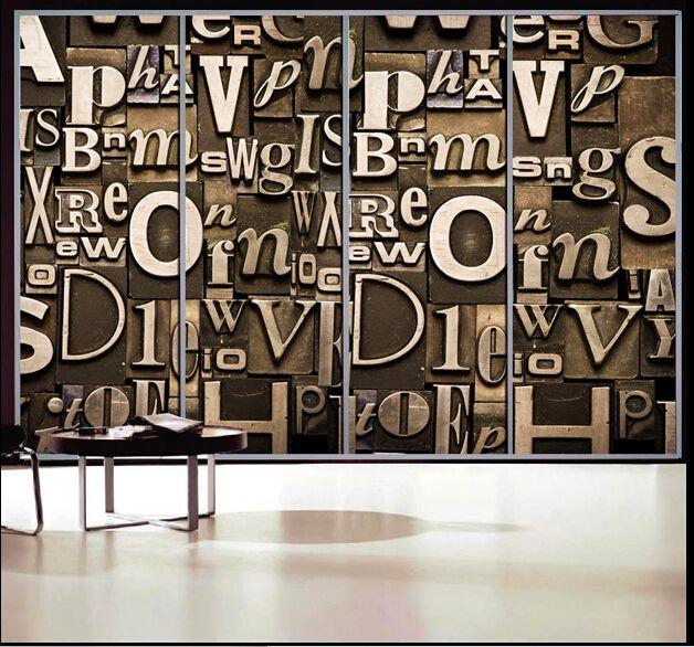 Пользовательский размер высший сорт ПВХ самоклеящиеся декоративные матовый конфиденциальности оконная пленка Современные Письма стекла фильмы украшения H105