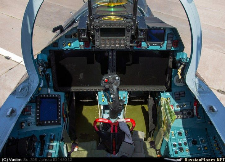 Su-35S Cockpit – Russian Air Force | ★ Su-27 Flanker ★