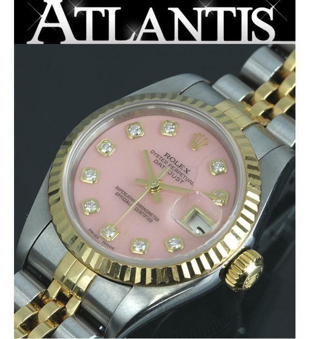 half off 2337b 77467 eBay #Sponsored Rolex Datejust 79173G P No.10P Diamond Pink ...