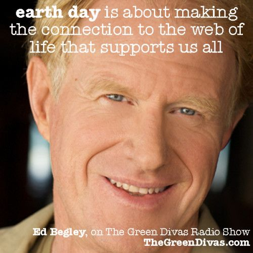 Ed Begley, Jr. on Celebrating Earth Day & Building it Greener ~ so what are YOU doing for earth day?