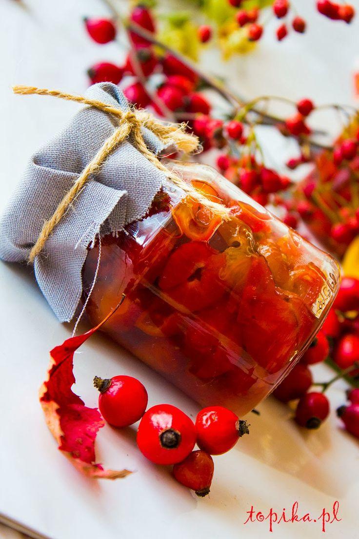 Topika: Konfitury z owoców dzikiej róży