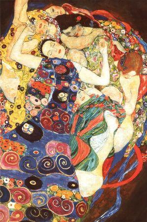 Gustav Klimt Virgin Art Print Poster Poster at AllPosters.com