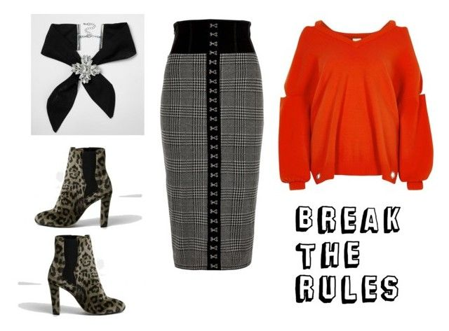 """Break the office dress code the right way!"" by xnoufiax ❤ liked on Polyvore featuring River Island"