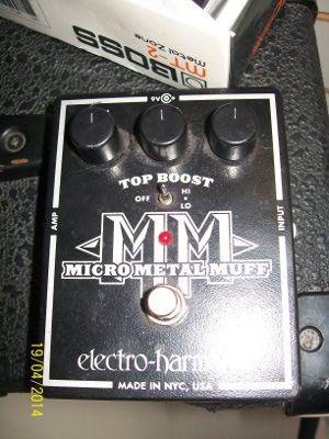 Electroharmonix Micro metal muff pedal