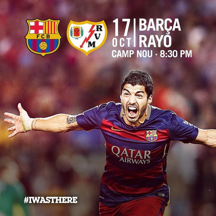The league is back with the visit of Rayo Vallecano to Camp Nou for a game which kicks off at 8.30pm CET  Torna la lliga al Camp Nou amb la visita del Rayo Vallecano  Vuelve la liga al Camp Nou con la visita del Rayo Vallecano  #FCBRayo #FCBarcelona @fcbarcelona #IWASTHERE  Tickets: fcbarcelona.com by fcbarcelona