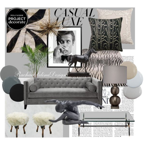 Project Decorate Casual Luxe Interior Ideas Board Decorating And Interiors