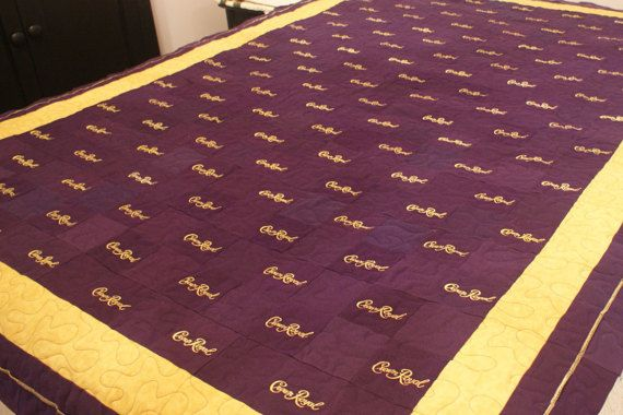 Crown Royal Quilts Made to Order Custom Quilt by LuluBelleQuilts