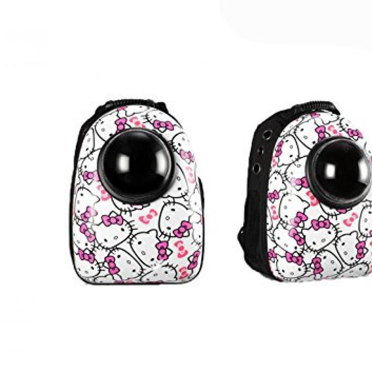 Alkem Pet Cat Dog Puppy Carrier Travel Bag Space Capsule Backpack (Hello Kitty) //Price: $ & FREE Shipping //     #hellokitty World of Hello Kitty https://worldofhellokitty.com/product/alkem-pet-cat-dog-puppy-carrier-travel-bag-space-capsule-backpack-hello-kitty/