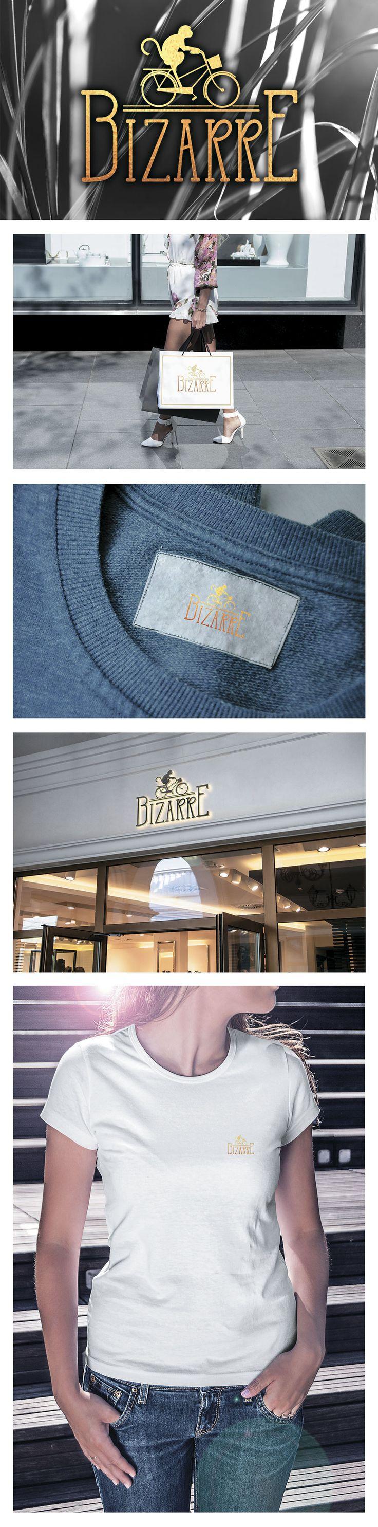 """Разработка логотипа для магазина женской одежды """"Bizarre"""""""