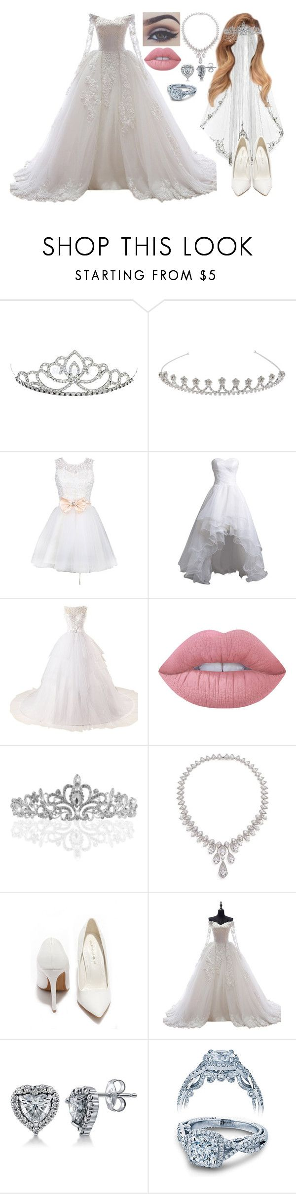 """""""Untitled #922"""" by skh-siera18 ❤ liked on Polyvore featuring John Lewis, Miya, Bellezza, Guide London, Lime Crime, Adriana Orsini, Shoe Republic LA, BERRICLE and Verragio"""