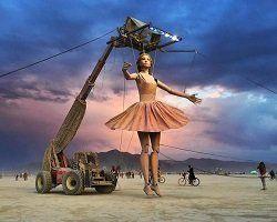 Фестиваль Burning Man 2017