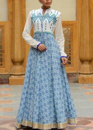 Blue Cotton Tunic