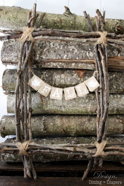 I like this Fall Twig Wreath because it is completely unconventional, rustic, seasonal and did I mention FREE?