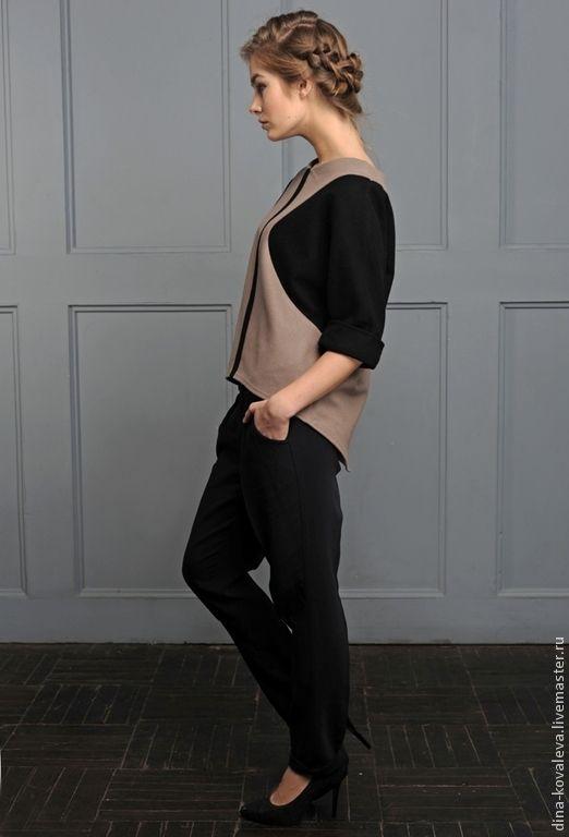 Купить Уютный свитшот из шерсти - однотонный, свитер, топ, свитшот, кофта, теплый, теплая одежда