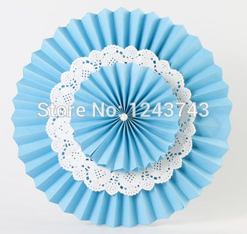 """Free Shipping 6pcs 20cm & 30cm(8""""&12"""") Mixed Size Multi-Layer Paper Flower Fans Christmas  Decoration Frozen Birthday Supplies"""