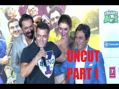 FREAKY ALI trailer launch   Salman Khan, Sohail Khan, Amy Jackson, Nawazuddin   PART 1