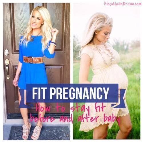 Pregnancy Workouts   Alexa Jean Fitness   Fit Pregnancy