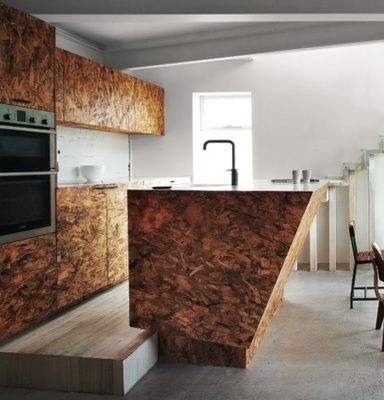 OSB cabinetry definitely a good idea