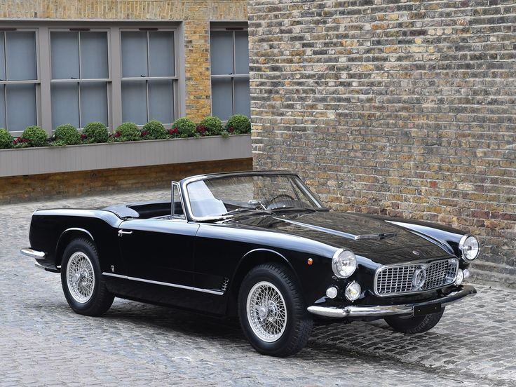 Unveiled for the first time at the 1957 Geneva Auto Show, Maserati's 3500 GT h…